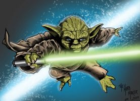 Yoda by JeffieB