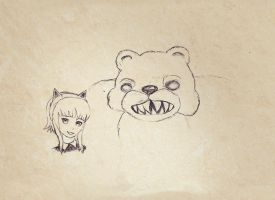 Annie and Tibbers by Froggens