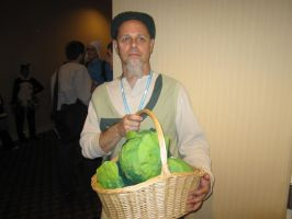 Kumoricon2012- Cabbage Guy by KamiyaAkuto