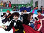 The Yule Ball by CaribbeanBlue