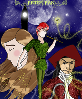 Fairy Tales: PETER PAN by pipe07