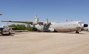 Douglas C-133 Cargomaster by shelbs2