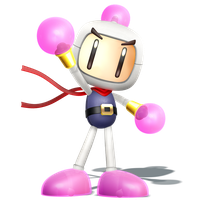 Smashified Style Bomberman! Render of 1/4 by Nibroc-Rock