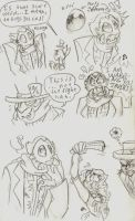 Francoeur Doodles by zombiecatfire13