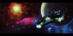 Hawkin SpacePort by Eacone01