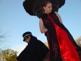 AB 2010 - Raidou and his girl by lorestra