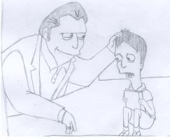 Fat tony and his son Michael by z2f
