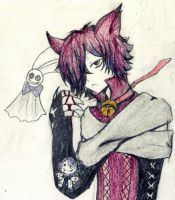 Cheshire neko by LottiBaskerville97