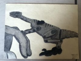 Charcoal Dino by King-of-Darkness50
