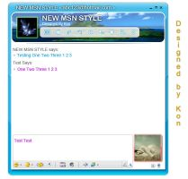 New Msn Design for fun by chimxx81