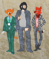 Modern Day Outfits by ceallach-monster