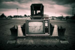 Dozer vs TV by CainPascoe