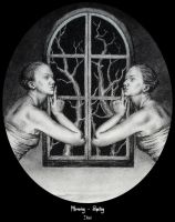 Mirroring - Speiling - detail by Luna-NYX