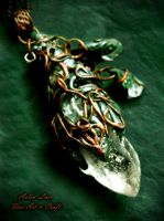 LostWood Elves Farewell pendant by Gwillieth