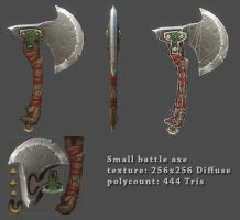 Small Battle Axe by JohnMcFlurry