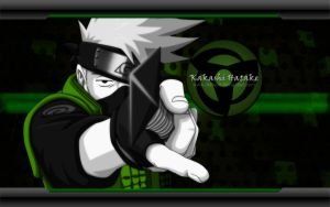 Wallpaper Kakashi Hatake HD 1920x1200 by DShepe by DShepe