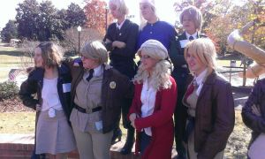 Allied Forces cosplay at Hetalia Day by southpony98