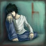 Death Note: L by SaiFongJunFan