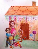 Hansel and gretel by LinasWorkshop
