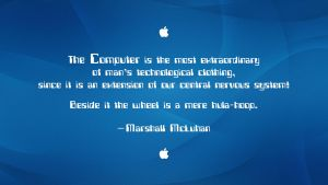 Marshall McLuhan Quote by RSeer