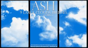 Clouds Brushes I by iAiisha
