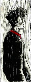 Dylan Dog under the Rain by LadyDesiree