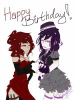 Happy Birthday Alyss!! by Reynn13