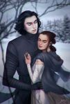 Reylo in the Woods by elanorchuah