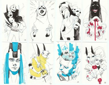 Sketch Cards - Batch 1 by HJeojeo