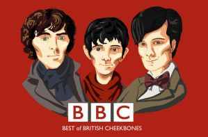 BBC: Best of British Cheekbones by SpotofInk