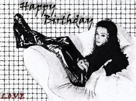 MJ Birthday Gift For bluegirl546 by MeryHeartless