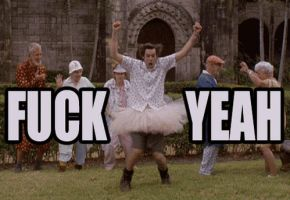 Fuck Yeah - Ace Ventura GIF by Lord-Iluvatar