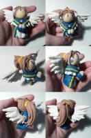 Day 18- Belldandy Jizo by ChibiSilverWings