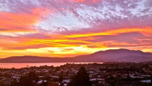 Sunset from my house almost every night... by arluckman
