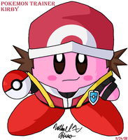 Kirby - Pokemon Trainer by BlazingGanondorf