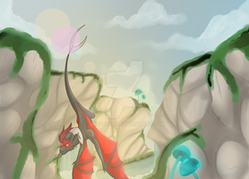 Into the Valley by Seria-The-Dragoness
