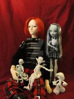 Ball Jointed dolls by silverbeam