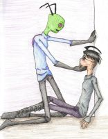 Look at Zim... by BrokenBloodRight