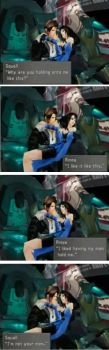 Romance Lessons with Squall by adamwestslapdog