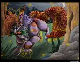 Hell Above .: Commission :. by ReversedNight