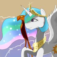(Failed) Princess Celestia by Camaine