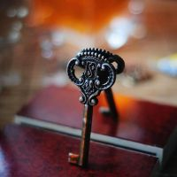 Where there is a Key, there is yet hope. by BlueColoursOfNature