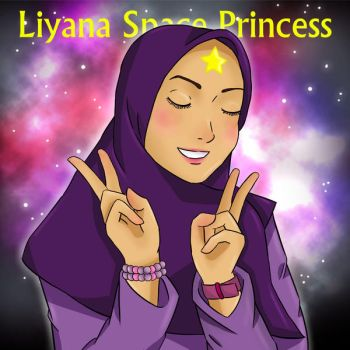 Liyana Space Princess by MianaHeART