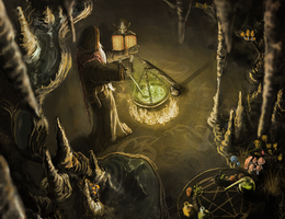 Alchemist Cave by cazael