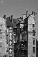 Old tenement in Belgrade by Gegio63