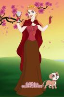 Disney Version of Rose Red (Snow White's sister) by Amphitrite7