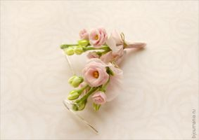 Earrings Eustoma by allim-lip