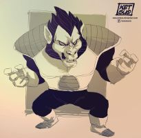 Ozaru Vegeta sketch by KetsuoTategami
