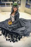 Totoro ballgown 1 by DustbunnyCosplay