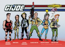 Marvel's Agents of J.O.E. by Phostex